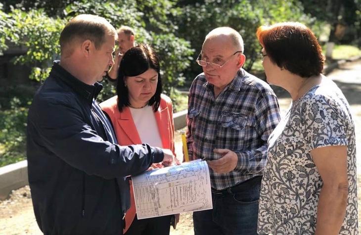 Благоустройство двора на улице Папанина согласовали с жителями