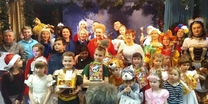Премьера музыкальной новогодней сказки «12 месяцев» состоялась в центре «Забота»