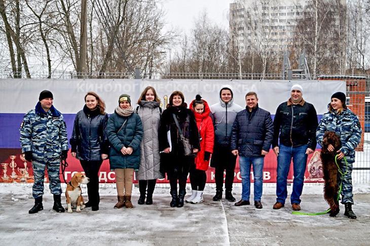 Акция «Студенческий десант» прошла в УМВД России по г.о. Королёв