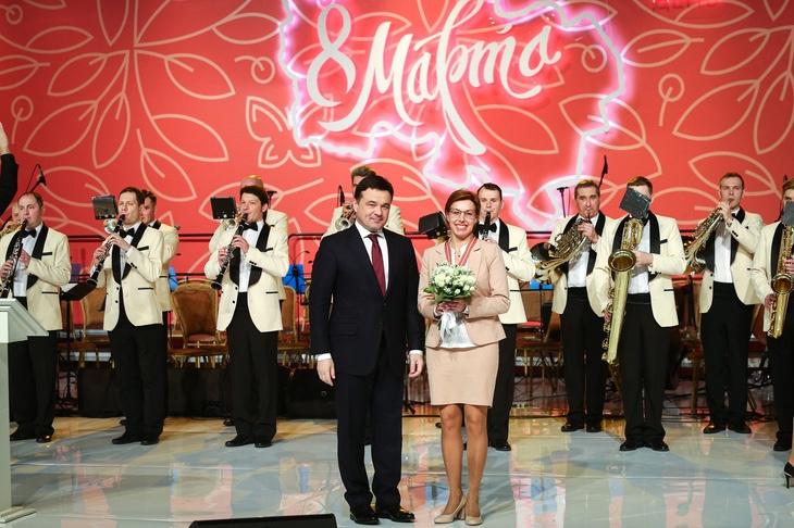 Жительница Королёва получила из рук губернатора Московской области орден «За доблесть и мужество»