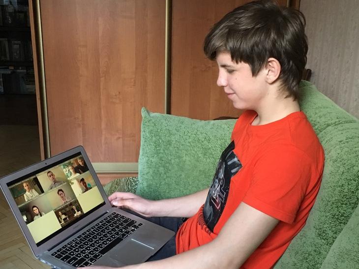 Королёвские школьники вступили в онлайн-диалог с губернатором Московской области
