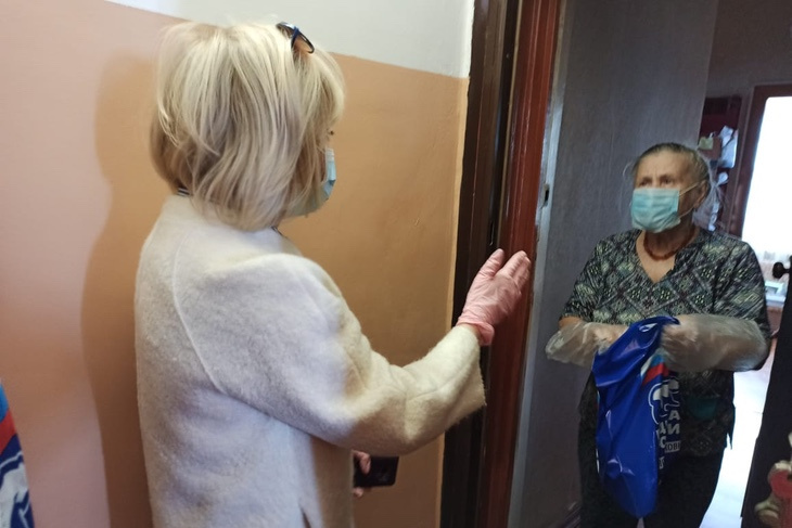 Королёвские волонтёры получают рецептурные лекарства для пенсионеров