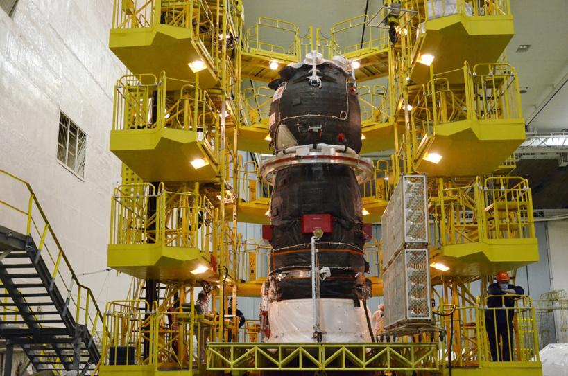 Завершена проверка солнечных батарей грузового корабля «Прогресс МС-15»