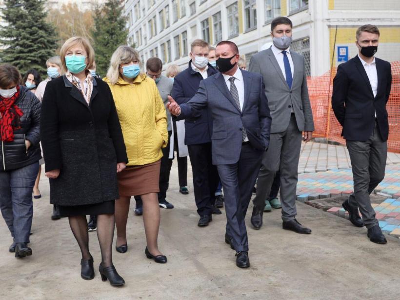 Строительство нового корпуса школы на 500 мест в Королёве завершат раньше запланированного срока
