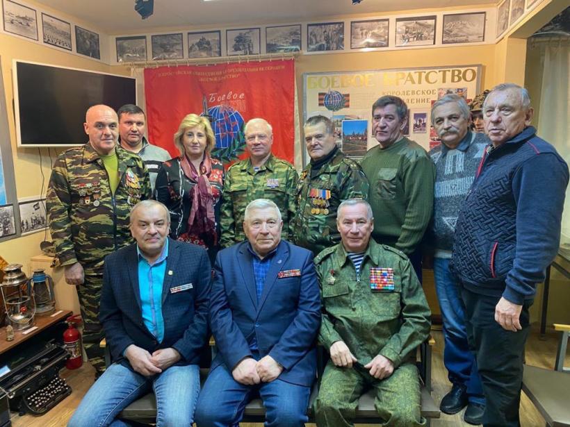Алла Полякова поздравила членов Королёвского отделения «Боевое братство» с Днём памяти воинов-интернационалистов